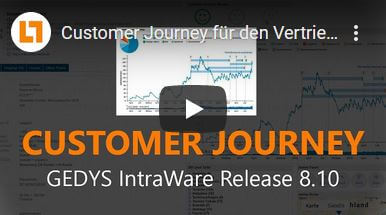 Video: Customer Journey für den Vertrieb – Release 8.10 I GEDYS IntraWare CRM