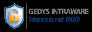 Logo GEDYS IntraWare Datenschutz