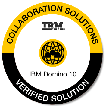 Logo IBM Collaboration Solutions Domino 10