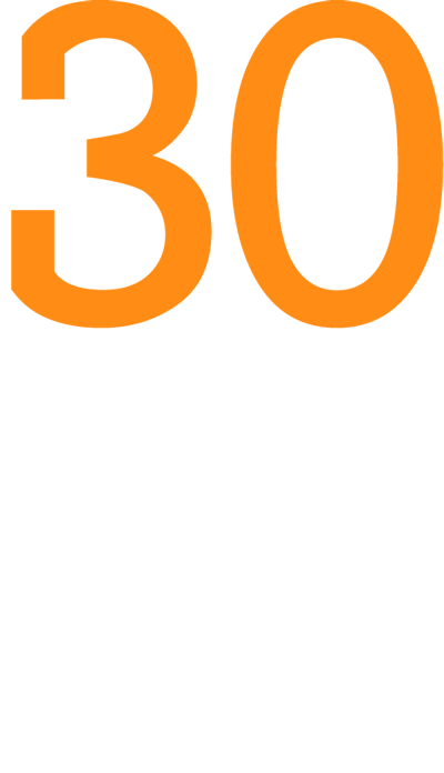 Logo 30 Jahre CRM Praxis GEDYS IntraWare