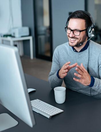 Online CRM-Beratung per Telefon