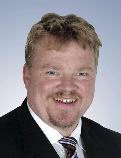 Portrait of Managing Director Frank Hohl