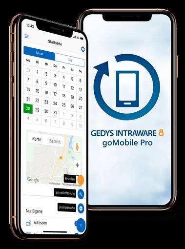 goMobile Pro CRM-App für den Vertrieb