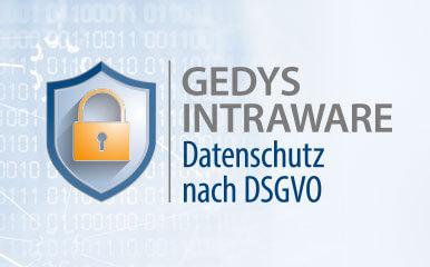 Beitragsbild DSGVO GEDYS IntraWare