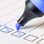 GEDYS IntraWare Checkliste: CRM-Anforderungen, Bild Textmarker