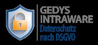Garantie-Logo: GEDYS IntraWare Datenschutz nach DSGVO