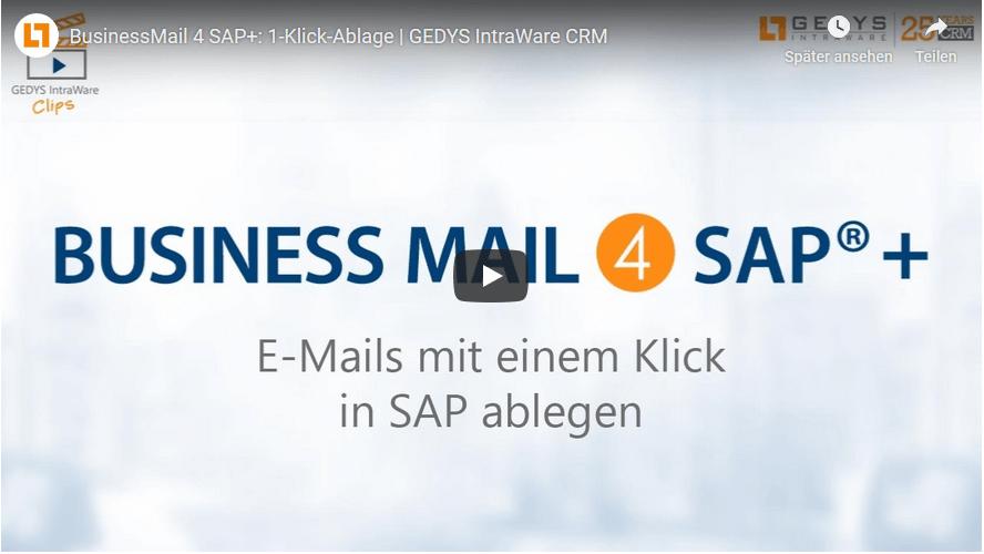 E-Mail: SAP & Outlook – zwei Welten im Tagesgeschäft verbinden 1