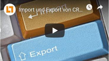 Video: Import und Export von CRM-Daten | GEDYS IntraWare CRM