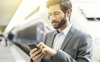 Blog article: 6 expert tips for mobile work on the go