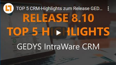 Video TOP 5 Highlights Release GEDYS IntraWare 8.10