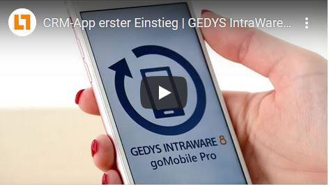 Video: CRM-App erster Einstieg | GEDYS IntraWare CRM