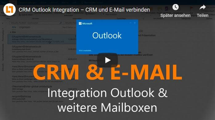 Video: CRM Outlook Integration – CRM und E-Mail verbinden