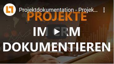Video: Projektdokumentation - Projekte im CRM dokumentieren | GEDYS IntraWare CRM