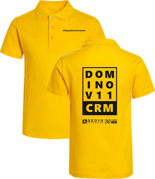 Jetzt eins der exklusiven Poloshirts #dominoforever sichern!