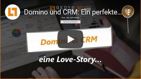 Domino und CRM von GEDYS IntraWare - perfektes Team seit 30 Jahren