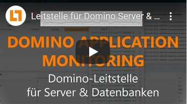 Video: Leitstelle für Domino Server & Datenbanken | 18-Min.-Vorstellung | Domino Application Monitoring
