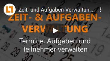 Video: Zeit- und Aufgaben-Verwaltung | GEDYS IntraWare CRM