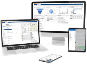 GEDYS IntraWare CRM software on all devices