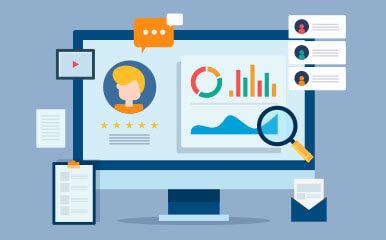 Blog-Beitragsbild: CRM-Datenanalyse & BI, GEDYS-IntraWare