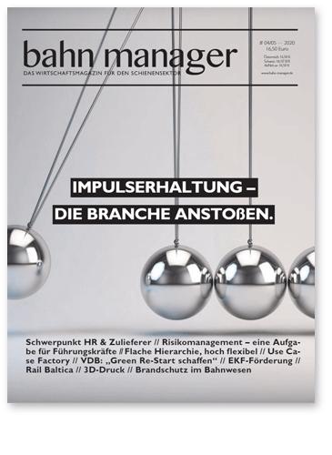 Fachartikel im Bahn-Manager veröffentlicht: Referenz-Story DB-Kommunikationstechnik von GEDYS-IntraWare