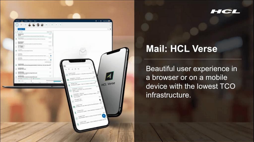 HCL Verse Client von HCL Domino V12
