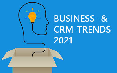 Blog-Beitragsbild: Business- und CRM-Trends 2021, GEDYS-IntraWare