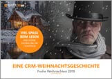 small front page of A CRM Christmas Story by GEDYS IntraWare