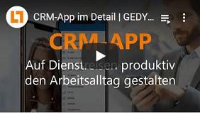 CRM-App von GEDYS IntraWare