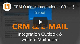 Videobild CRM Outlook Integration – CRM und E-Mail verbinden