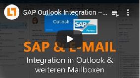 SAP Outlook Integration – SAP und Mail